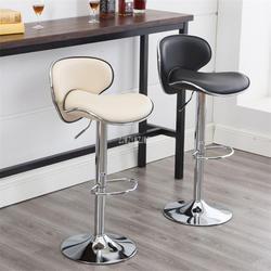 Нержавеющаясталь поворотный барный стул вращающийся 58-78 см регулируемая высота Высокая табурет барный стул со спинкой мягкие подушки
