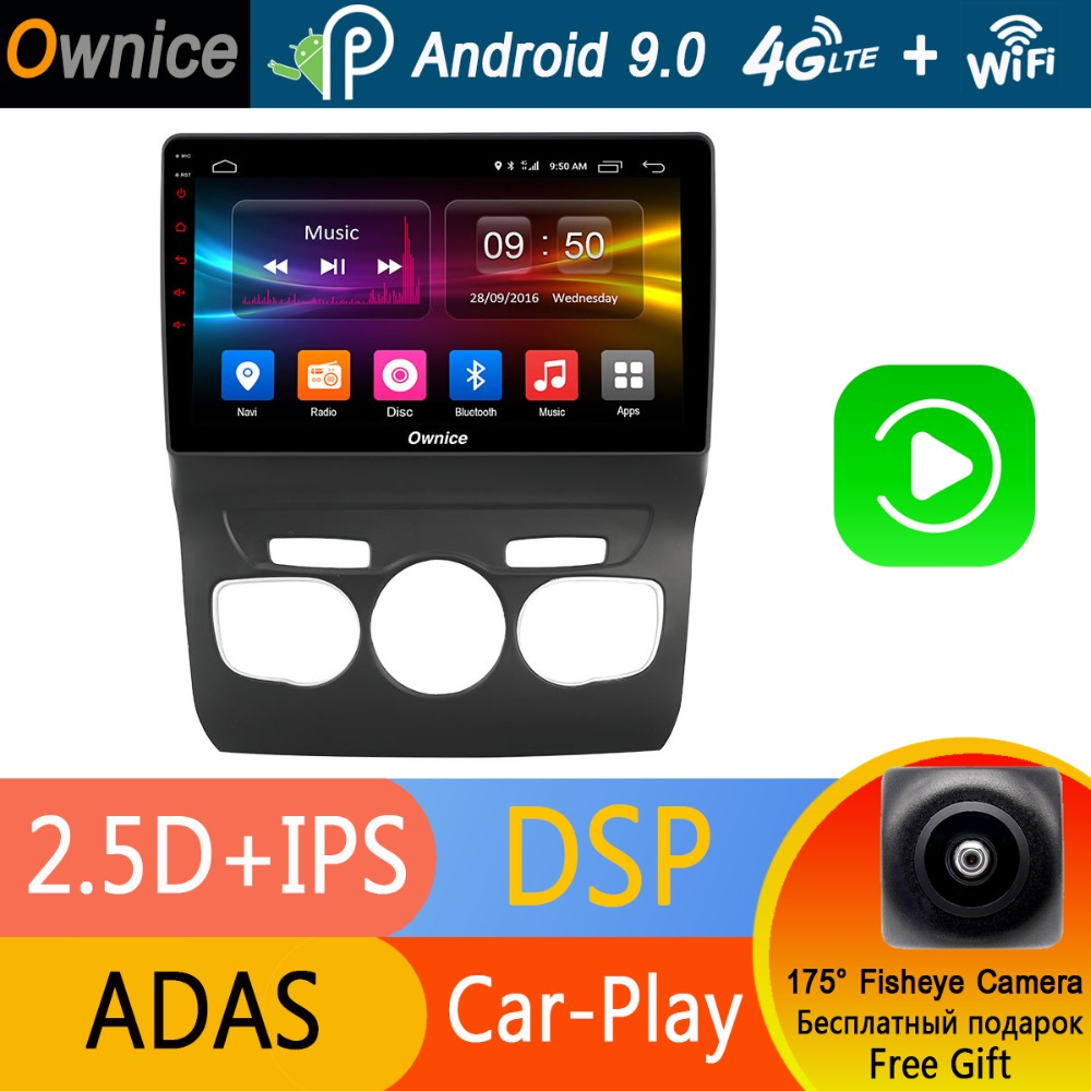 Octa Core 10 1 IPS Android 9 0 Car DVD GPS Navigation Player Car Stereo For