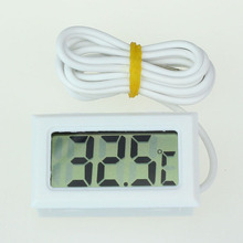 Термометра морозильной камерой зонд жк-цифровой холодильник коробки температуры термометр ~ градусов