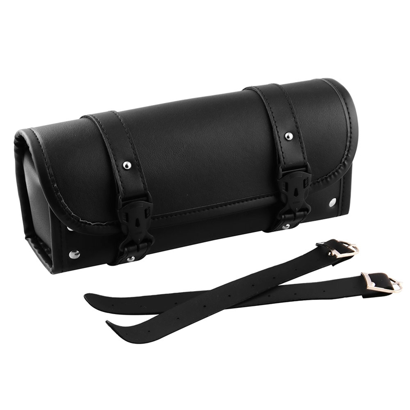 Motorcycle Fork Bag Handlebar Bag Sissy Bar Tool Bag For Yamaha Honda Sportster Softail Dyna Kawasaki