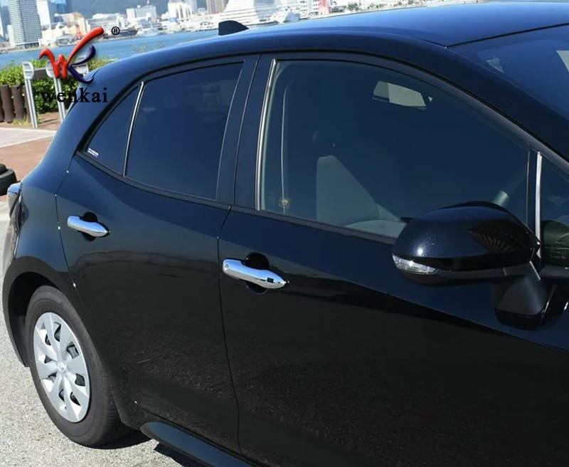 Car-Accessories-For-Toyota-Corolla-Sport-Hatchback-Auris-2019-Car-Side-Door-Handle-Cover-Trim-Strip (4)