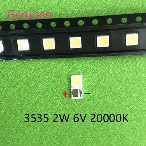 Image 3 - 500 قطعة لإصلاح تلفاز LCD LG led TV شريط إضاءة خلفي أضواء مع صمام ثنائي الباعث للضوء 3535 SMD LED الخرز 6 فولت LG 2 واط