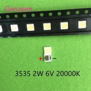 Image 3 - 500PCS עבור LCD טלוויזיה תיקון LG led טלוויזיה תאורה אחורית רצועת אורות עם אור דיודה 3535 SMD LED חרוזים 6V LG 2W