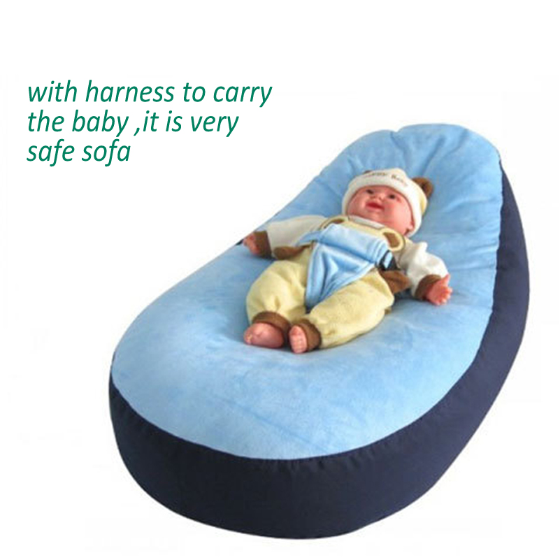 New Blue Pink Bloop Newborn Babies Beanbag Chair Kids Toddler Baby Bed Crib Sofa Furniture Portable For In Cribs From Mother