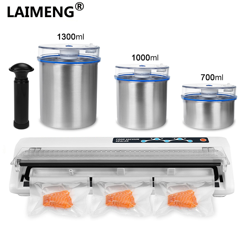 Laimeng Vacuum Packing Machine for Food Vacuum Container Stainless Best Packaging Sealer For Packing Food Vacuum Package S208 стоимость