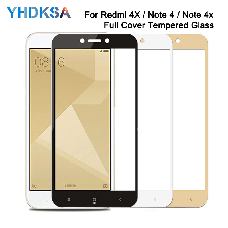 9D Protective Glass on the For Xiaomi Redmi 5 Plus S2 4X 5A Redmi Note 4 4X 5 5A Pro Tempered Screen Protector Glass Film Case(China)