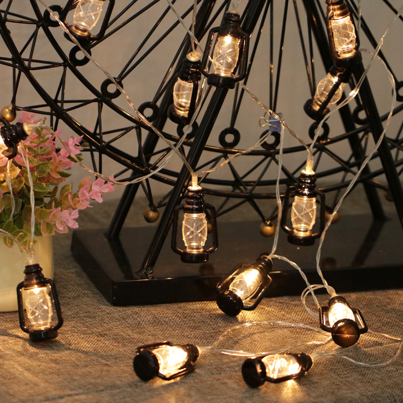 Outdoor lighting Water oil lamp Led string light vintage style garden holiday Wedding decoration fairy lights party 22m 200 led solar strip light outdoor lighting solar led string fairy lights waterproof for wedding christmas party garden light