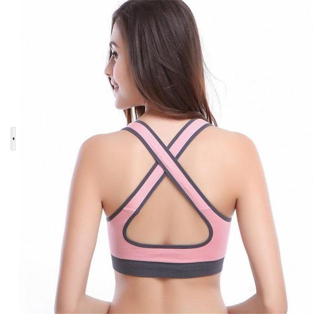 CKAHSBI Bicycle Clothing For Women Sexy Push Up Bras Summer Soft Sport Bra Cycling Base Layer Bike Underwear Tops Ladies Fitness