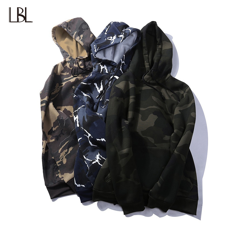Europe Size Men Hoodies Casual Sweatshirt Brand Spring Military Camouflage Hooded Sports ...