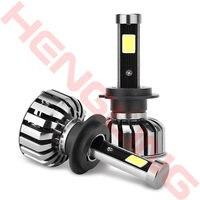 2Pcs H1 H3 H7 H4 9004 9005 9006 9007 880 H13 H11 Car Headlight 80W Vehicle