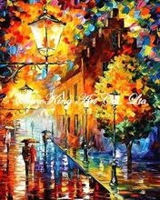 palette knife oil painting  modern oil painting canvas oil painting  K399
