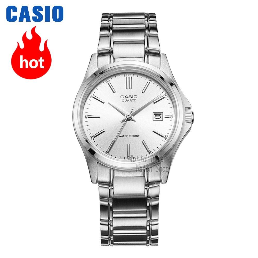 Часы Casio Analogue Женские кварцевые часы простые маленькие циферблатные водонепроницаемые часы LTP-1183