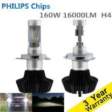 Super Lumineux H4 De Voiture Phares H7 LED H8/H11 HB3/9005 HB4/9006 50 W 8000lm Auto avant Ampoule Automobile Phare 6000 K De Voiture Éclairage