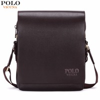 Awen New Arrival Fashion Business Leather Men Messenger Bags Promotional Small Crossbody Shoulder Bag For Male