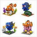 New LOZ Micro Blocks Finding Nemo DIY Building Bricks Fish 3D Auction Figure Mini Blocks Kids Toys Gifts