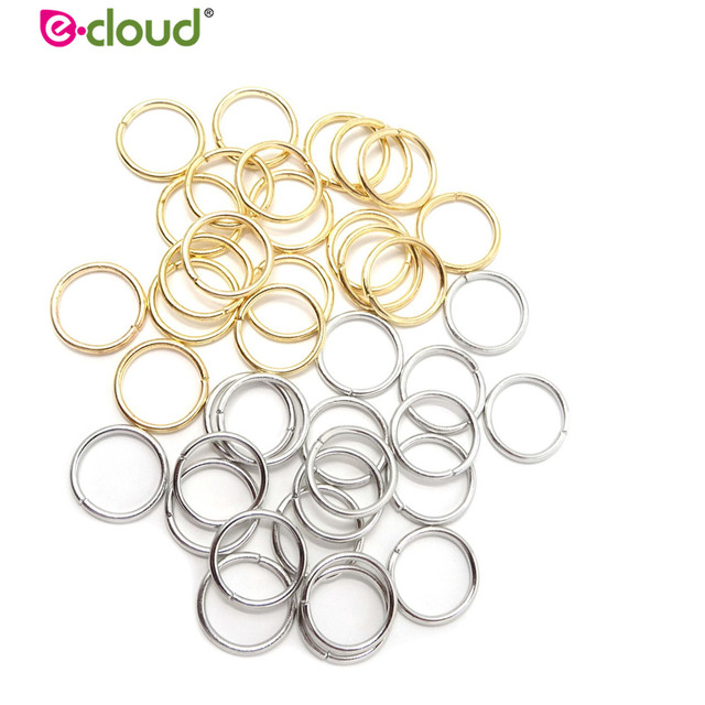 100pcs/lot Hair Braid Rings Accessories Clips for Women and Girls Dreadlocks Beads Set Color Gold and Sliver 1
