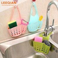 3pcs Kitchen Sink Faucet Caddy Bath Hanging Organizer Sink Draining Soap Sponge Towel Holder Pocket Sink Caddy Storage Baskets 3