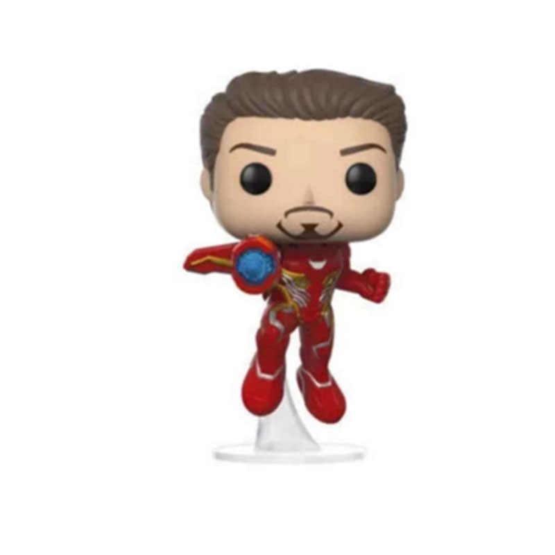 Funko pop Marvel Мстители: Endgame Железный человек 304 # ПВХ фигурку Коллекция Модель игрушечные лошадки для детей Рождественский подарок с коробкой