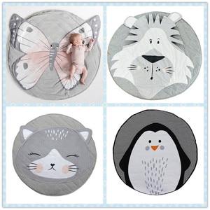 Image 2 - Tapete Infantil INS Baby Infant Play Mats Kids Crawling Carpet Floor Rug Baby Bedding Rabbit Blanket Cotton Game Pad Children Ro