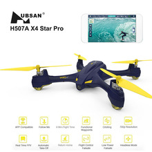 Hubsan X4 STAR H507A App Compatible Wifi FPV RC Drones With 720P HD Camera GPS RC Headless Quadcopter RTF  with Transmitter