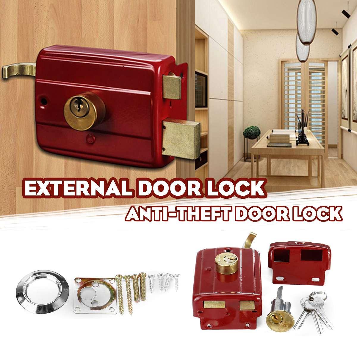 cast-iron-anti-theft-exterior-door-retro-red-locks-multiple-insurance-lock-wooden-door-lock-security
