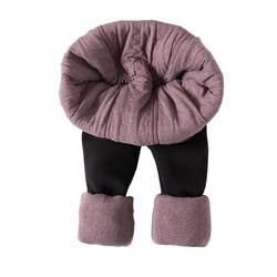 MOBTRS Herfst Winter Mode Plus Size Dik Fluwelen Warme Leggings Vrouwen Mode Leggings Warme Broek Vrouw