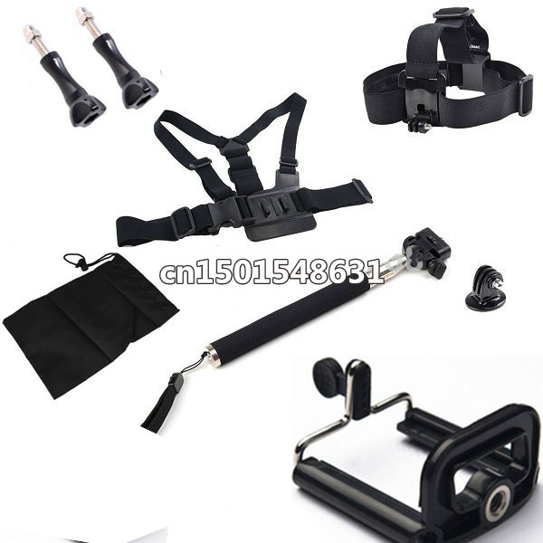 gopro accessoriess monopod adapter go pro hero 3 2 4 hero3. Black Bedroom Furniture Sets. Home Design Ideas