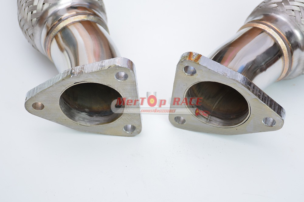 Exhaust Downpipe Tube Pipes for Infiniti G35 G37 FX35 FX37 VQ35HR VQ37HR Engine
