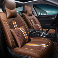 Breathable Mesh Car Seat Covers Fit For Audi A6L R8 Q3 Q5 Q7 S4 RS Quattro A1 A2 A3 A4 A5 A6 A7 auto accessories car stickers