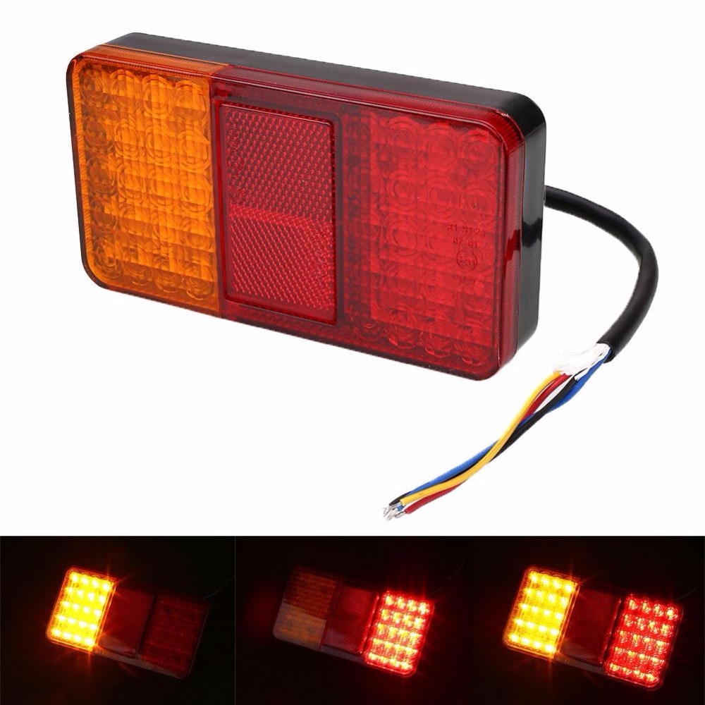 12V 40 LED Truck Car Trailer Rear Tail Light Stop Indicator Turn Signal Lamp Taillight