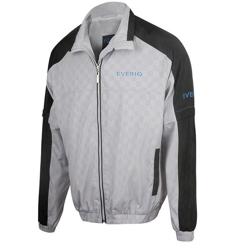 Veste de Golf manteau à glissière pour hommes imperméable à l'eau en plein air Golf coupe-vent sport vêtements masculins pour automne chemise de golf à manches longues ou vestes - 4