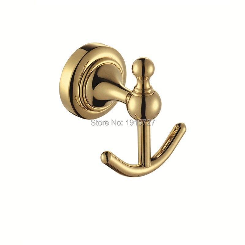 new arrival high quality coat hook single hook coat hooks wall hooks gold european bathroom wall