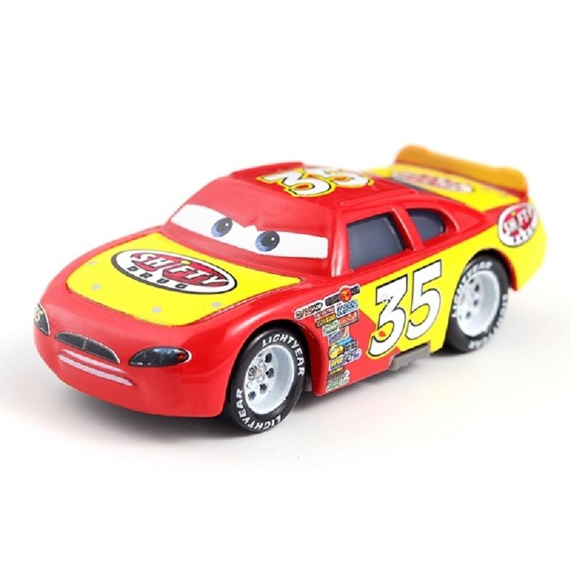 Disney Pixar машина 3 автомобиль 2 Маккуин автомобиль Игрушка 1:55 литой металлический сплав модель Игрушечная машина 2 детские игрушки День рождения Рождественский подарок - Цвет: 7