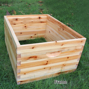 Image 4 - Automatic Wooden Bee Hive House Wooden Bees Box Beekeeping Equipment Beekeeper Tool for Bee Hive Supply 66*43*26cm High Quality