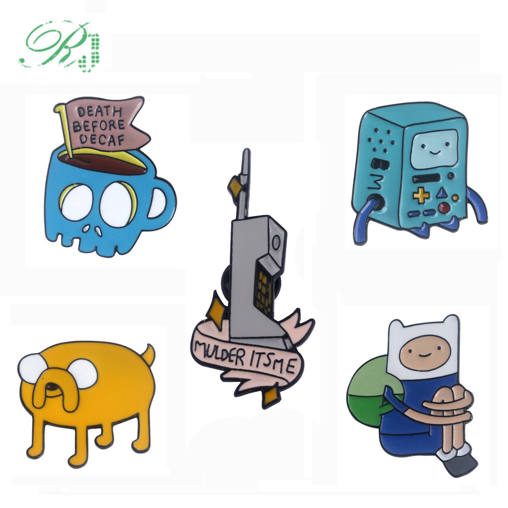 Anime Adventure Time Pictures rj new anime adventure time pins brooches cartoon figure