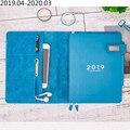 A5 Einfarbig Klassische Notebook Täglich Wöchentlich Jährlich Planer Notebook Persönliche Tagebuch Notebook Agenda 2019 Planer Veranstalter