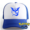 HOT game POkemon go hat pokemons VALOR/INSTINCT/MYSTIC colorful hat for game fans HT119