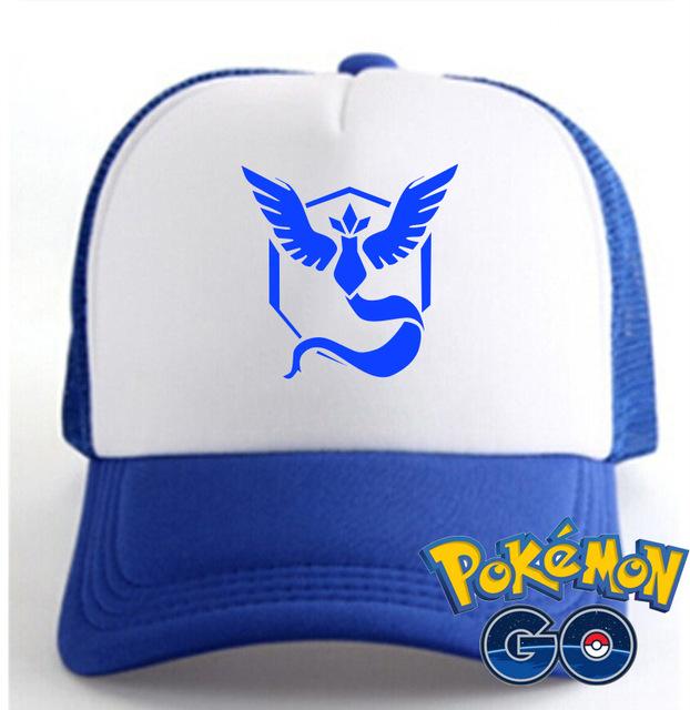 Jogo POkemon QUENTE ir chapéu pokemons VALOR/INSTINCT/MÍSTICO colorido chapéu para os fãs do jogo HT119