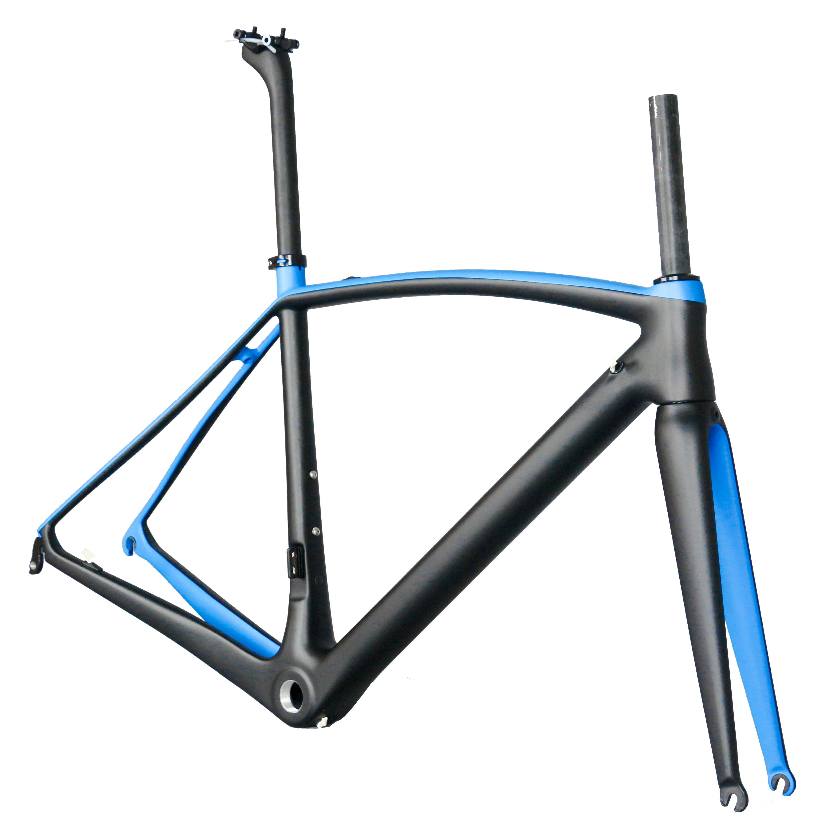 All Internal Cable Normal Brakes Toray T1000 Usding New EPS Technology Carbon Fiber Customization Road Bike Frame FM208