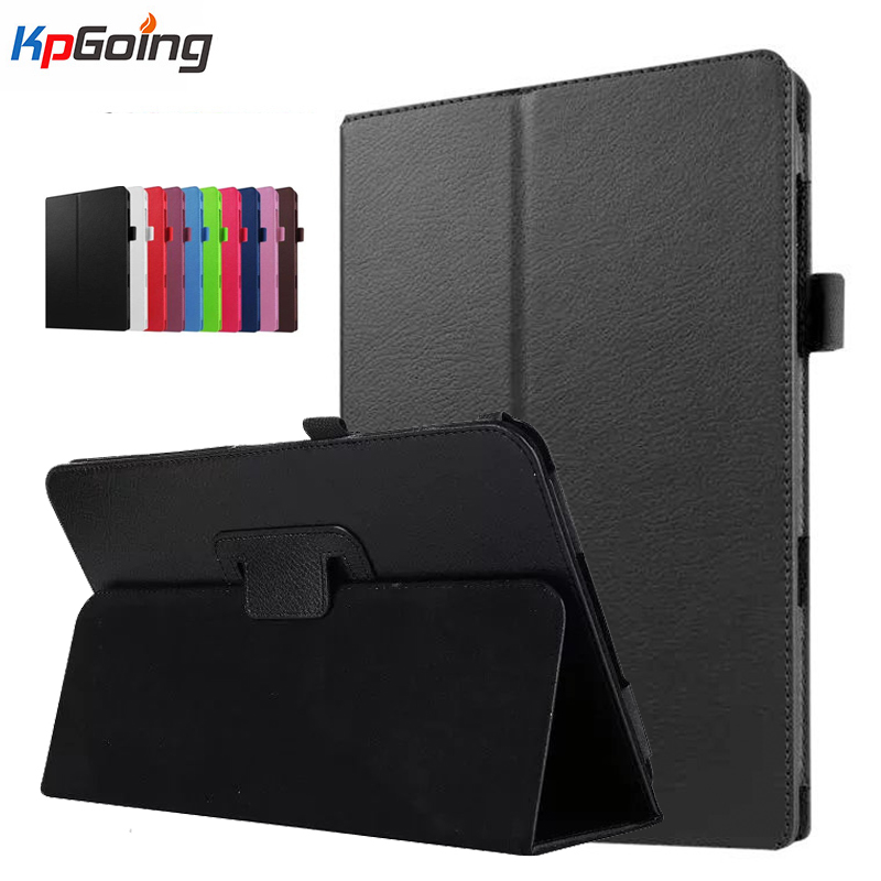 все цены на For Samsung Galaxy Tab A 10.1 T580 T585 SM-T580 Case Business Pu Leather Cover for SM-T580 Case for Samsung Tab T585 SM-T580 онлайн
