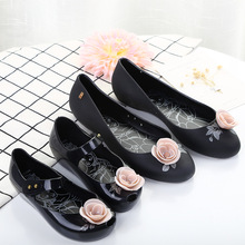 Mini Melissa Beauty Rose Woman Jelly Sandals 2019 Summer Mom Girls Shoes Women Soft 22.5-24.5cm