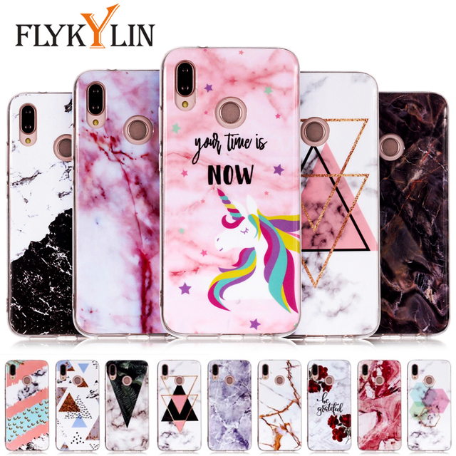 the best attitude d1e96 b50d0 US $1.34 20% OFF|Aliexpress.com : Buy FLYKYLIN Marble Unicorn Phone Case  For Huawei P20 Lite Case For Huawei P10 P9 P8 Lite 2017 Covers Coque Soft  TPU ...