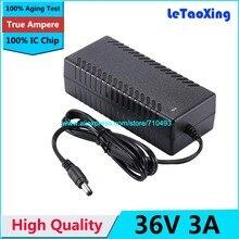 AC DC Netzteil 36 V 3A Adapter Ladegerät Transformator 2A Für Led streifen Licht Cctv kamera Mit IC Chip
