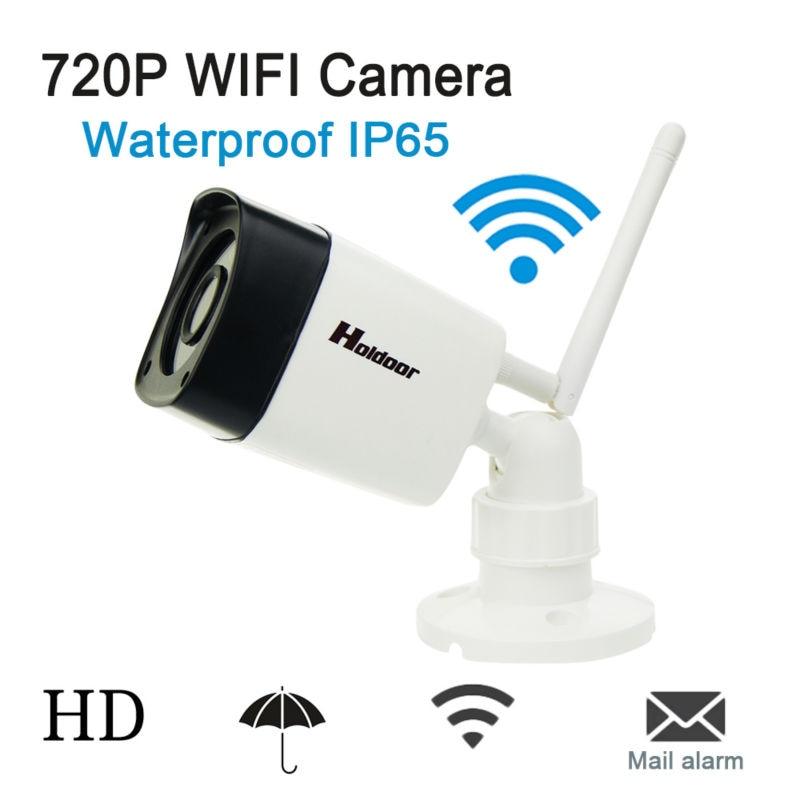IP Camera 720p 1.0MP Wifi Support Micro SD Card P2P Onvif 2.0.4 IR Night Vision Waterproof Mini Wireless Cctv Security System