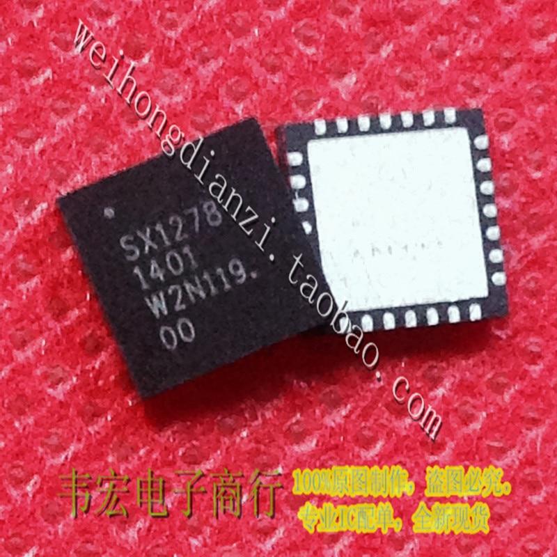 SX1278 SX1278IMLTRT QFN28 pieds nouveau module sans fil RF puce patchSX1278 SX1278IMLTRT QFN28 pieds nouveau module sans fil RF puce patch