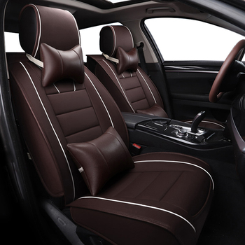 WLMWL Universal Leather Car seat cover for Mini all models cooper countryman cooper paceman car accessorie car styling