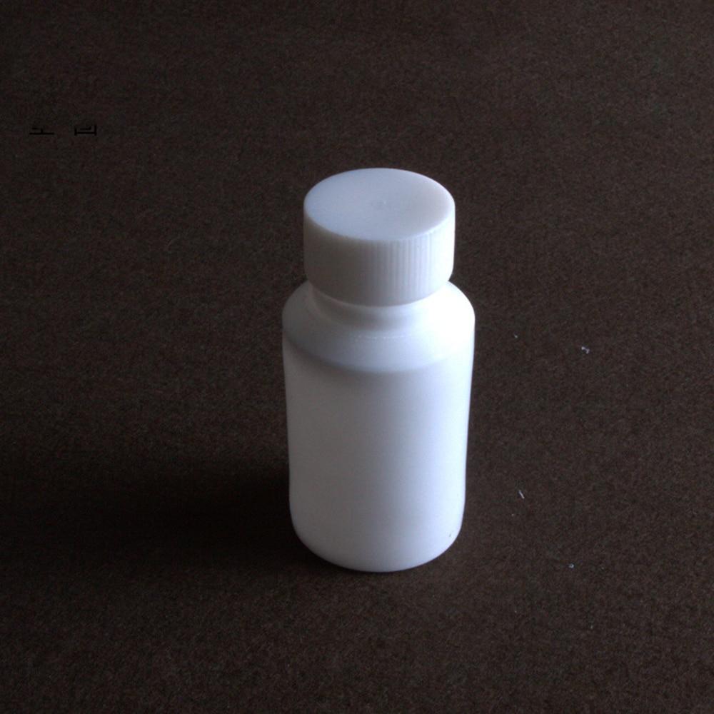 50ml PTFE Teflon Reagent Bottle Screw Cap Screw On Cover Acid Alkali Resistance new arrive ptfe reagent bottle sample bottle