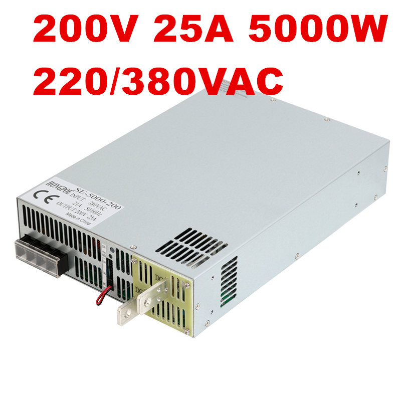 220/380VAC 5000W 200V 25A DC20-200V power supply 200V25A AC-DC High-Power PSU 0-5V analog signal control DC250V Power high power amplifier single bridgerectifier filtering power supply board 25a