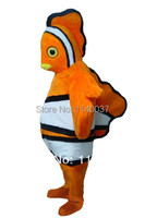Clown Fish Maskotki maskotki Kostium Dla Dorosłych Rozmiar Cartoon Character carnival fantazja kostium