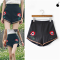 Short032 Moda Princesa Bolo Do Vintage Tassel Rivet Ripped Solto Short Jeans de Cintura Alta Bonito Sexy Hot Shorts Jeans Mulher